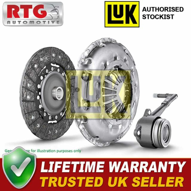 Clutch Kit 3pc 230mm 623294233 LuK Genuine Quality Replacement Cover+Plate+CSC