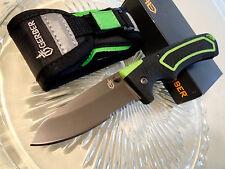 "Gerber Freescape Lockback Pocket Knife w Sheath 30-000887N 8.35"" Open 7Cr17MoV"