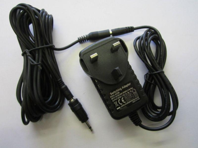 6.5M Long 6V AC Adaptor Power Supply for AG 13203 for Roger Black Exercise Bike