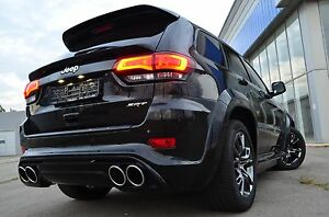 Details About Mid Spoiler For Jeep Grand Cherokee Wk2 Srt8 Laredo 2017 2018 Scl Performance
