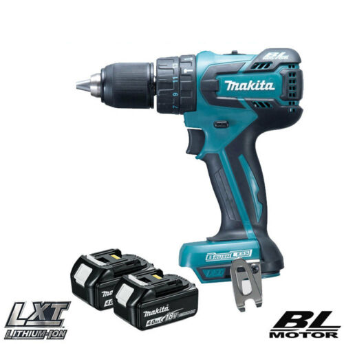 Makita DHP459Z 18V Brushless Cordless Combi Drill With 2 x 4Ah BL1840 Batteries