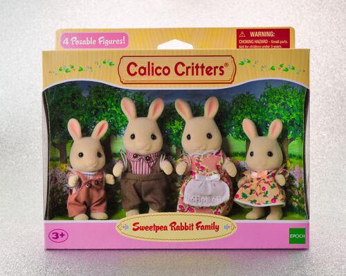 Sylvanian Families Calico Critters Sweetpea Rabbit Family