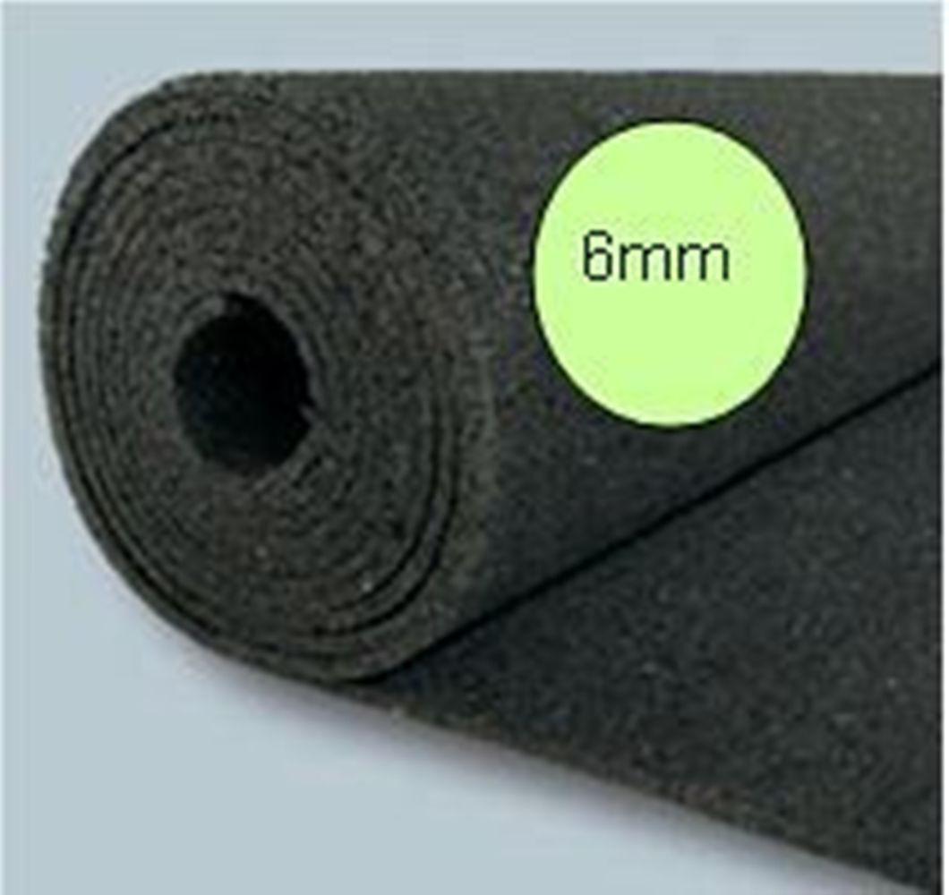 . 5 Rollen Bautenschutzmatten BM (1,25m x 10m) Gummimatte, 62,5m²,6mm preis