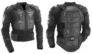 Fox Racing Titan Sport Jacket Guard Black Motocross Off Road Dirt Bike 10050-001