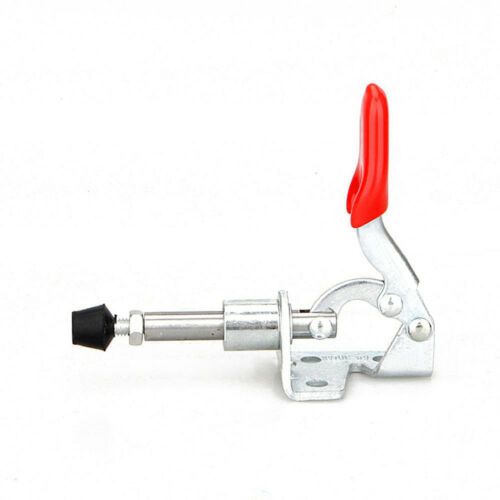 1pc 50Kg,110Lbs Holding Capacity 16mm Plunger Stroke Push Pull Type Toggle Clamp