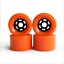 4pcs-Skateboard-Wheels-Pro-Road-Racing-Longboard-Wheel-Red-amp-Black-amp-Orange-83mm thumbnail 8