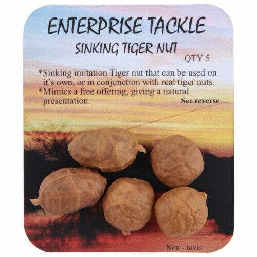 Enterprise Tackle Imitazione Pop Up Tiger Nut Carp Hair Rig Esca Pesca Tigernut