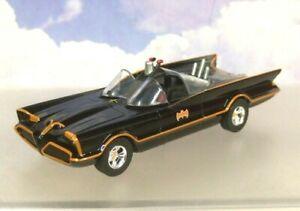 NICE-JADA-1-43-DIECAST-CLASSIC-TV-SERIES-1966-034-BATMAN-034-BATMOBILE-IN-BLACK-98225