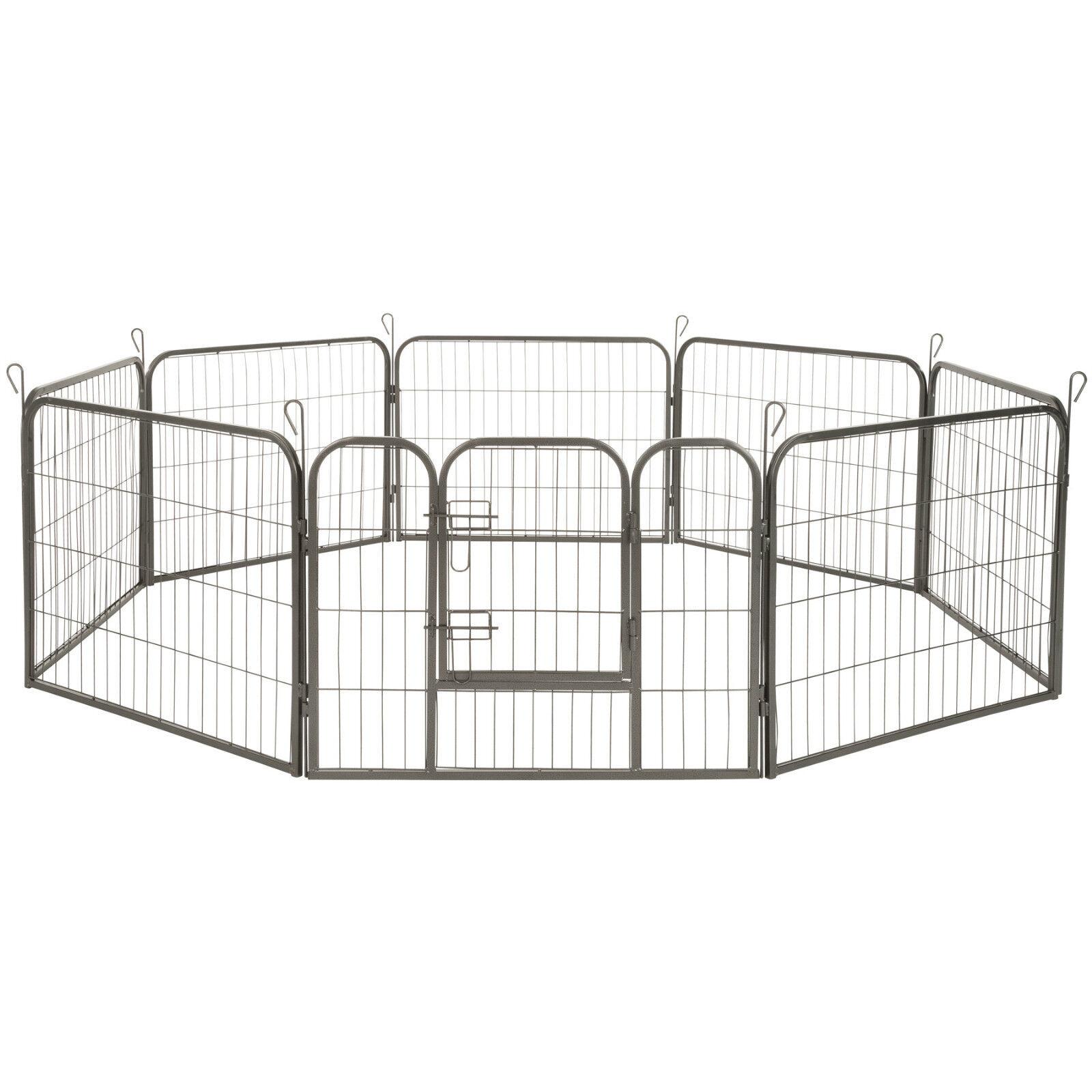 Parc enclos exterieur pour  ot grillage installation ouvert hauteur de 60 cm