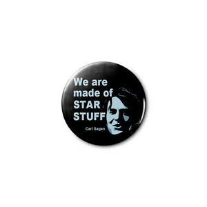 abd30a46 Carl Sagan - STAR STUFF - 1.25in Pins Buttons Badge *BUY 2, GET 1 ...