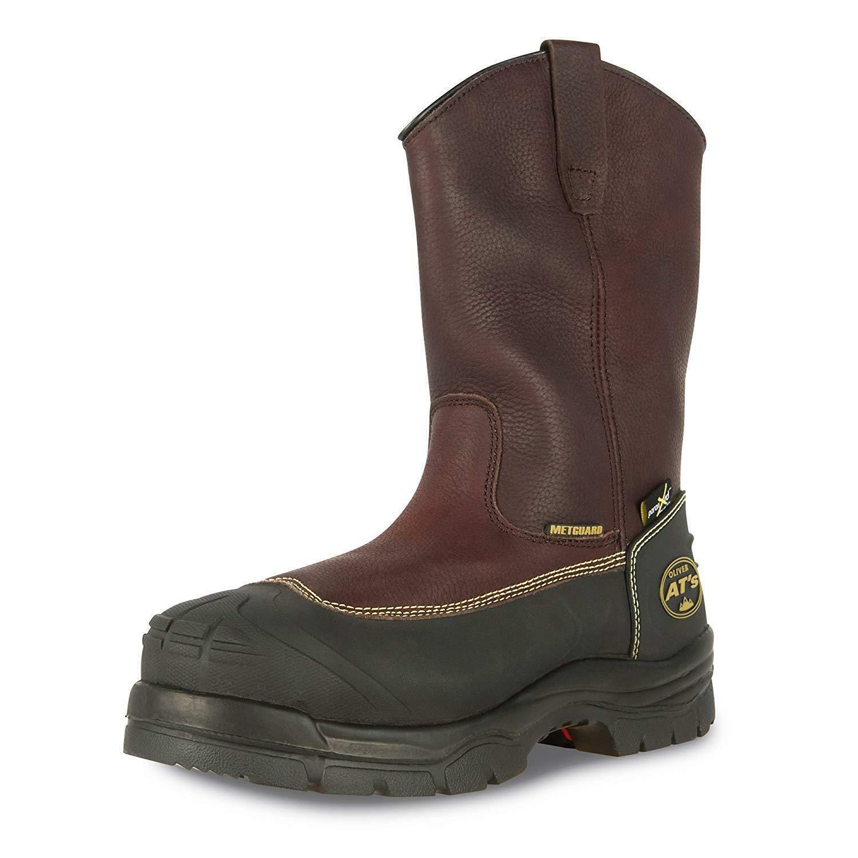 qualità di prima classe Oliver 65 Series 10    Chemical-Resistant Pull-On Leather Work stivali 65396  consegna diretta e rapida in fabbrica