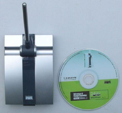 Linksys WRE54G Wireless Repeater Range Extender Expander Internet WIFI