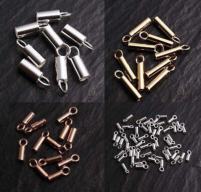 10g Perlen Ende Perlenkappen Perlkappen Endkappen Verbinder Verschluss Ketten