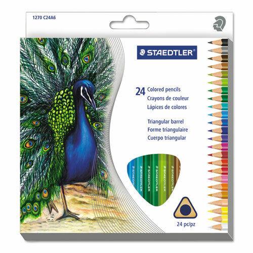 Staedtler Tradition Color Pencil Set 2.9 mm Lead Diameter Assorted Lead