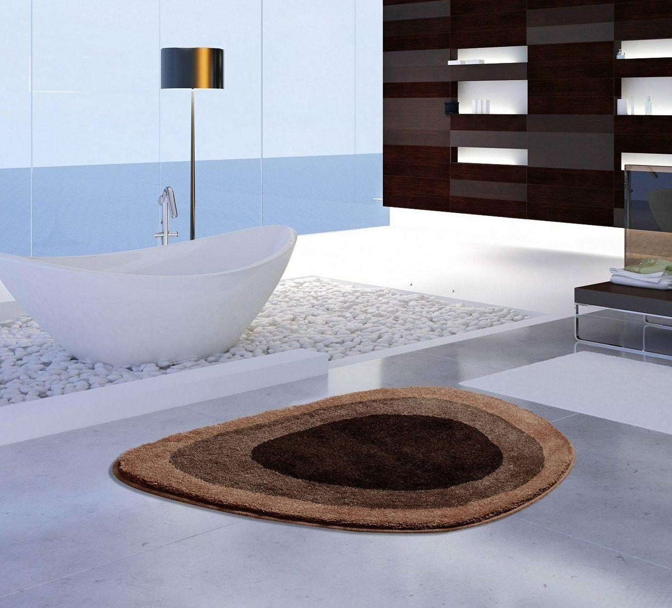 Designer Badezimmer Matte Lake Extrasoft Farbe Braun   3 Größen     | Haben Wir Lob Von Kunden Gewonnen