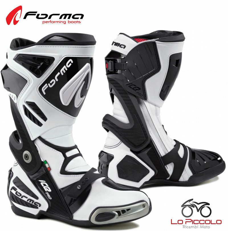 FORV220 Boots Bianchi Forma Ice Pro Road Racing Driving Track Motorcycle Size 41