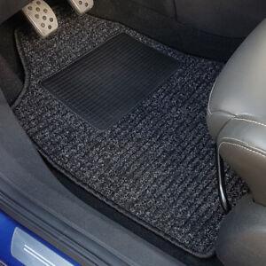 uniTEC-Auto-Fussmatten-Set-4tlg-Taxi-Universal-Schwarz-Textil-Teppich-Matte