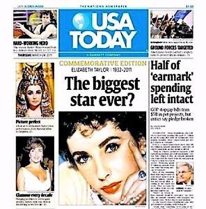 Elizabeth-Taylor-Newspaper-USA-Today-Commemorative-Tribute-2011-MT-Liz-Cleopatra