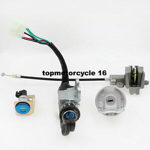 Ignition key Switch for 50cc 125cc 150cc 250cc Moped Scooter