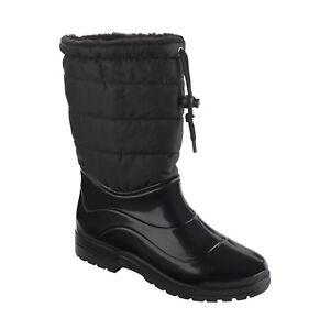 Scholl su donna impermeabili Vestmann Dr neve scarpe Scholl New pioggia Dettagli 92IYWEDH