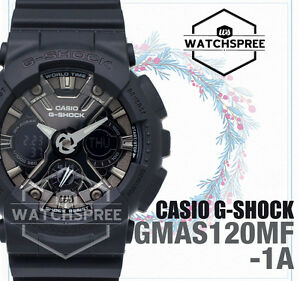 Details about Casio G-Shock S Series new GMA-120 Watch GMAS120MF-1A  GMA-S120MF-1A