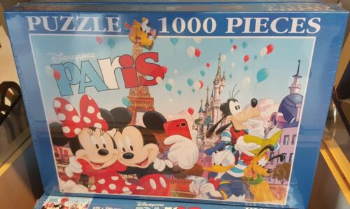 Puzzle 1000 Teile Paris 7 Disneyland Paris