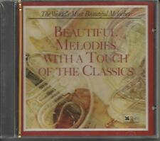 Worlds Most Beautiful Melodies With a Touch of The Classics CD BRAND NEW SEALED