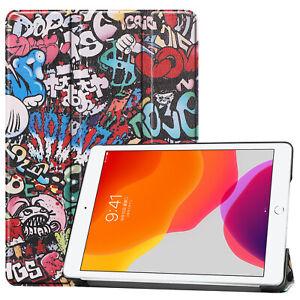 Pochette-pour-Apple-IPAD-10-2-Smart-Cover-Etui-en-Forme-de-Livre-Sac-Support