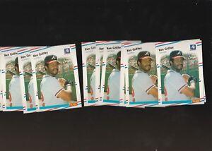 1988-Fleer-Braves-Ken-Griffey-540-Lot-of-12