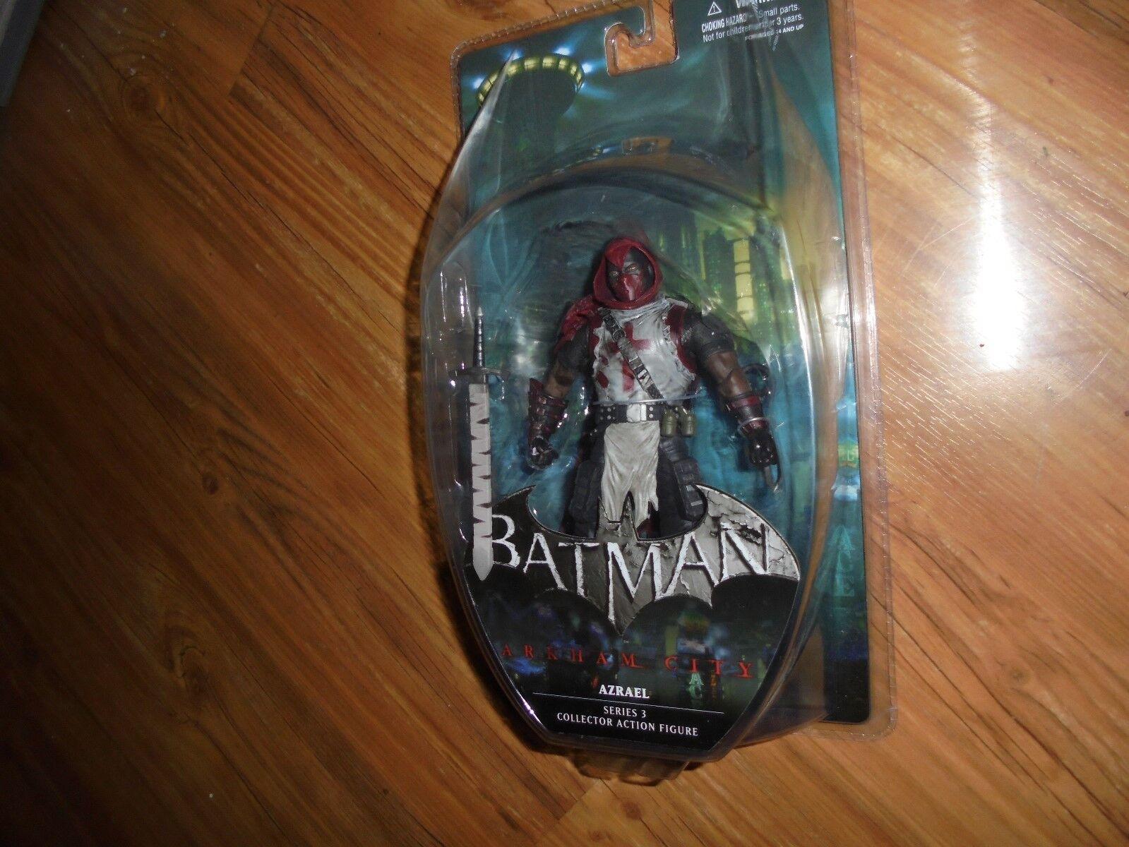 Batman Arkham City Series 3  AZRAEL  Collector action figure DC Comics 2012