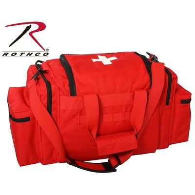 Red Tactical Red EMT First Aid Emergency Medical Bag Concealed Carry Bag 2659