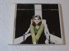 Everybody Knows by Trisha Yearwood (CD, Aug-1996, Universal)