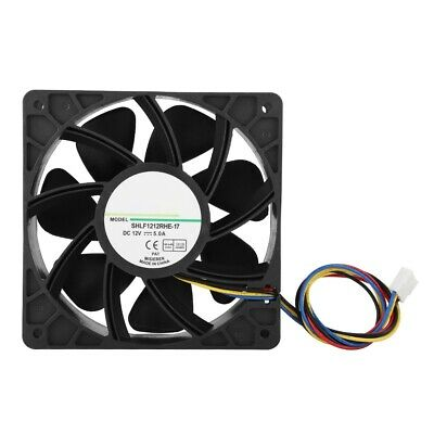 DC12V 1.5A 12CM 4Pin PWM Speed Temperature Control Cooling Fan Cooler 200CFM