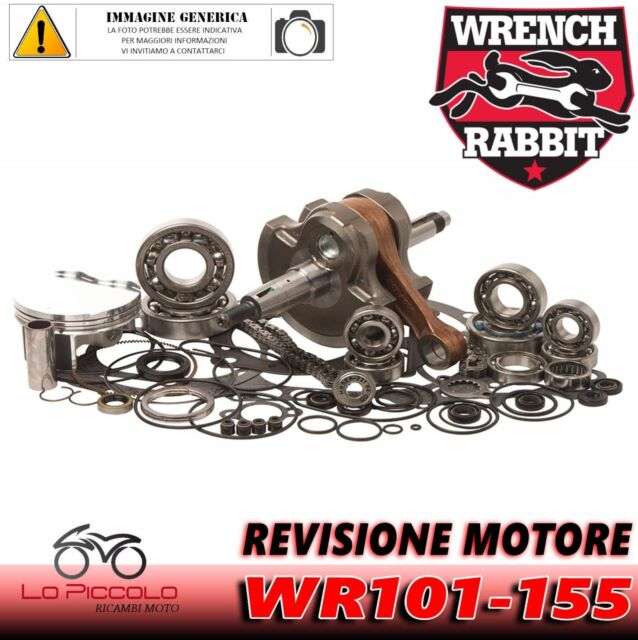 Yamaha Blaster 200 1994 1995 Wrench Rabbit Kit de Revisión Cigüeñal + Pistón