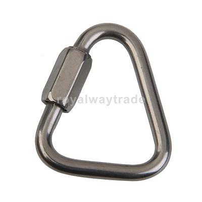 Triangle Shape Mountaineering Climbing Equipment Carabiner 12KN 1200kg Strong