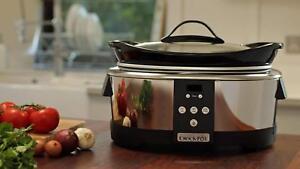 Crock-pot-SCCPBPP605-Marmite-de-Cuisson-Lente-Digital-5-7-L-Four