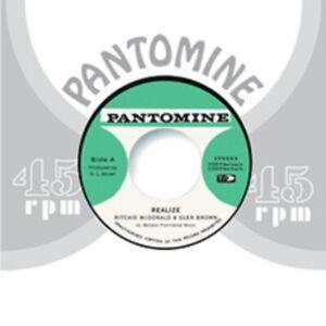 """Ritchie McDonald & Glen Brown- Realize - New 7"""" Vinyl"""