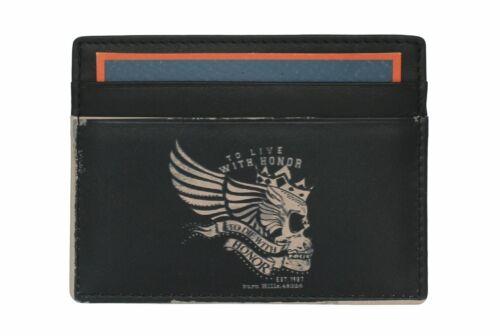 Titular de la tarjeta de crédito de cuero Impresa Kalmin con Protección RFID 637 /_ 4