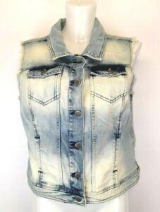32) ZABAIONE Damen Jeans Weste Jacke Gr. L 40 Neu 59,99€