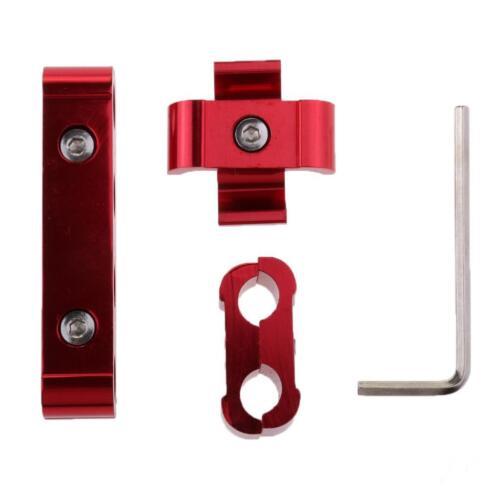 Rosso Separatore Cavo Filo Candela Motore 8mm 9mm 10mm Alluminio Per Auto