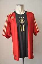 2008 Germania Maglia #11 KLOSE Taglia XL ADIDAS WM DFB AWAY GERMANY EM Rosso Oro