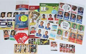 Panini WM EURO Updates und Sondersticker 2006 2008 2010 2012 2014 2016 2018 2020
