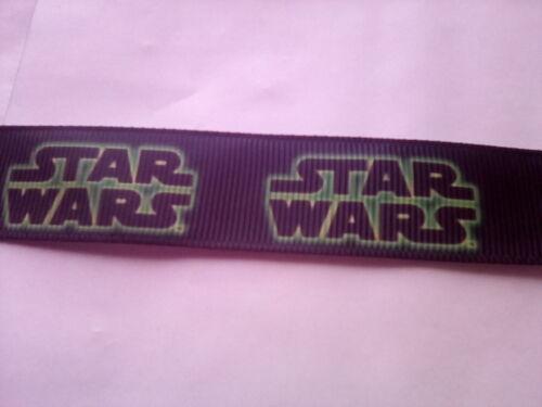 width 23mm 1 /& 2 metres Star Wars Ribbon