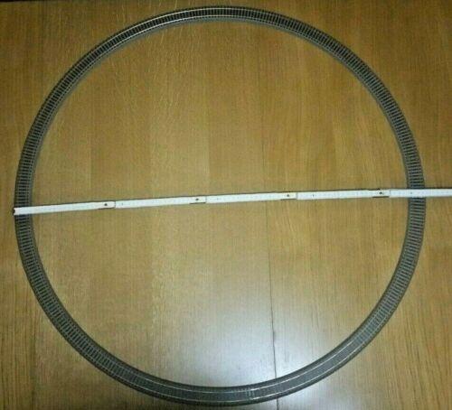 12x Roco GeoLine R3 61123 Gebogenes Gleis H0 90cm Durchmesser