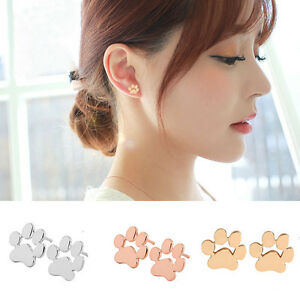 1pair-Dog-Paw-Print-Ear-Stud-Lovely-Gold-Silver-Women-Gril-Earrings-Jewelry
