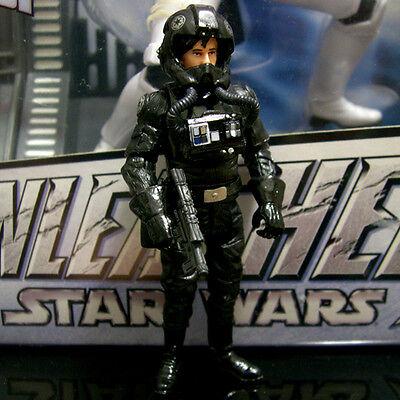 STAR WARS legacy collection BIGGS DARKLIGHTER Imperial Pilot tlc