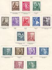 REGNO 1938 PROCLAMAZIONE DELL'IMPERO+A 16 VAL. LEGGERA TRACCIA DI LINGUELLA