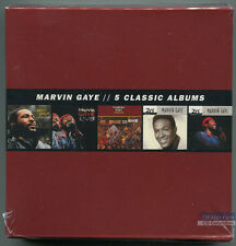 Marvin Gaye - 5 Classic Albums (5 CD) What's Going On Live! I Want You Best of