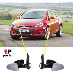 Para-Opel-Vauxhall-Astra-J-09-15-nueva-ala-espejo-electrico-climatizada-purgada-par-LHD