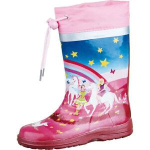 Pink Wonderland Einhorn Schmal Details Zu Größe 22 Beck 33 Gummistiefel Mädchen kuiOPZX